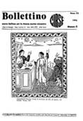 Copertina del Bollettino Storico CIRSE