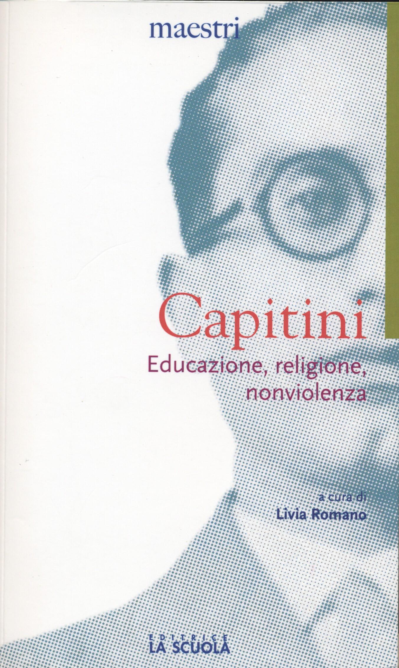 """Copertina libro """"Educazione religione e non violenza"""""""