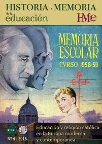 Copertina rivista Educación y religión católica en la Europa Moderna y Contemporánea